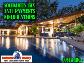 Solidarity Tax late payments