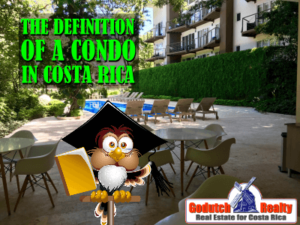What's the definition of a condo in Costa Rica?