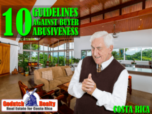 10 Guidelines for not being an abusive buyer