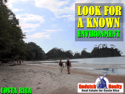When you move to Costa Rica you tend to look for a known environment