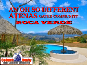 Roca Verde homes in Atenas | An oh so different gated community in Atenas