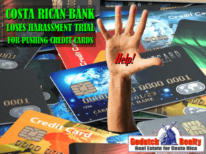 Banks pushing credit cards in Costa Rica