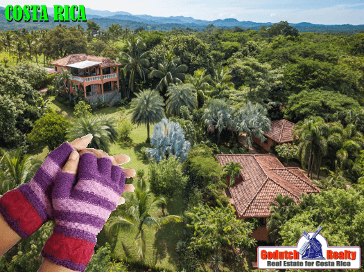 Who says it does not get cold in Costa Rica