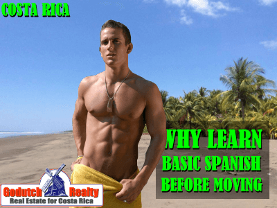 Learn basic Spanish before you move to Costa Rica