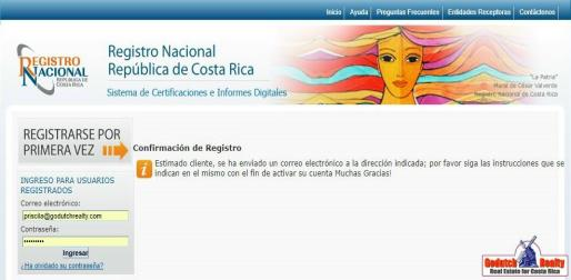 How to check Costa Rica property title yourself