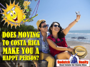 Moving to Costa Rica does not necessarily make you a happy person