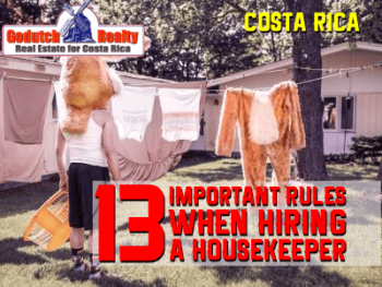 13 Important rules when hiring a maid
