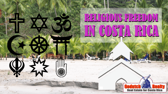 Costa Rica English language churches and religious services