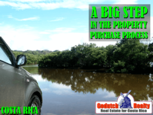 A big step in our Costa Rica property purchase process