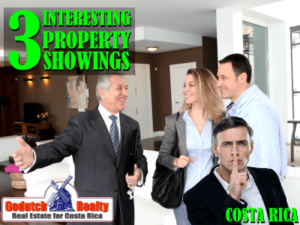 Interesting Costa Rica property showings