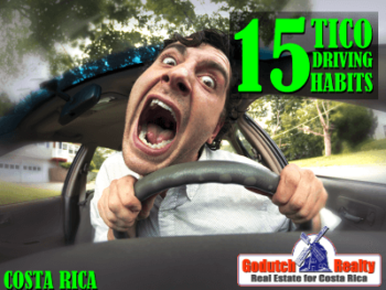 15 Tico Driving Habits - Driving in Costa Rica is different