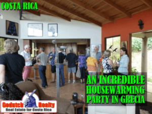 New Grecia home housewarming party