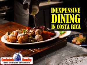 Inexpensive Dining in Costa Rica
