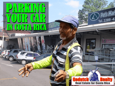 Parking your car in Costa Rica