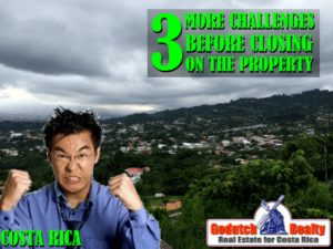 3 More Challenges Before Closing on Our Property