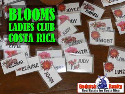 Blooms ladies club in Costa Rica