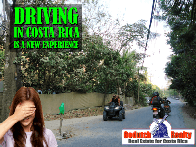Driving in Costa Rica is a new experience