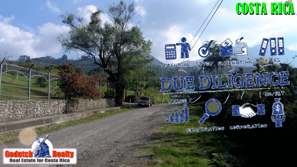 Due diligence before you purchase property in Costa Rica