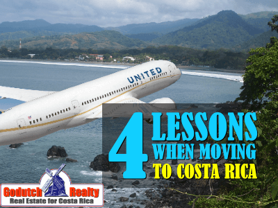 four lessons when we moved to Costa Rica