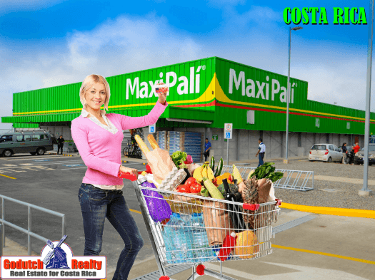 Shopping in supermarkets and general stores in Costa Rica