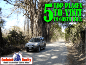 5 Top Places to visit in Costa Rica