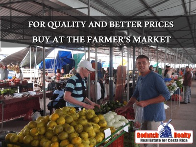 for quality and better prices buy at the farmers market