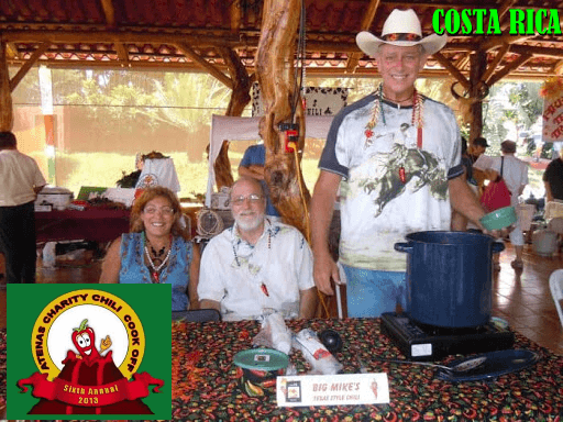Annual Atenas Charity Chili Cook Off