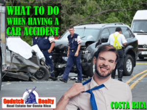 When you have a car accident in Costa Rica