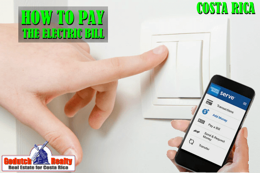 how to pay Costa Rica utility bills