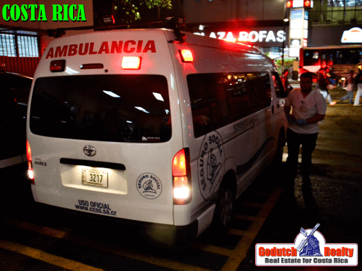 Looking for medical attention in Costa Rica