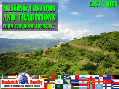you miss the traditions from your home country?