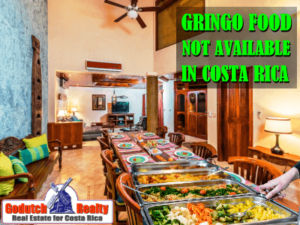 Gringo food I cannot find in Costa Rica