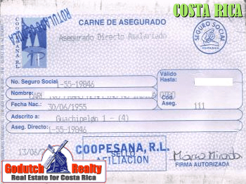 This is how your CAJA card will look like