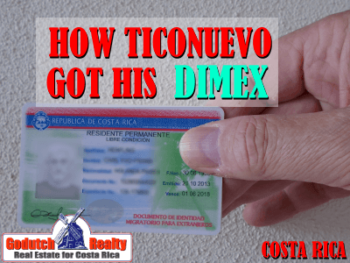 How Ticonuevo got his Dimex residency card