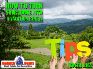3 Tips to Turn your house into a successful vacation rental