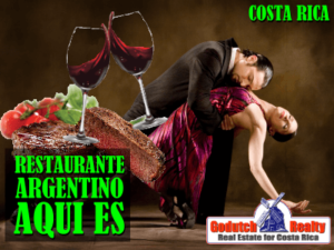 Try tango wine and bife de chorizo in Costa Rica