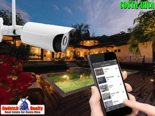 Lock your Costa Rican house when going on vacation