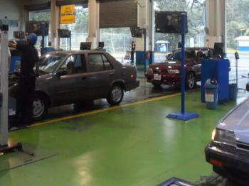 The Costa Rica Vehicle Inspection or RITEVE