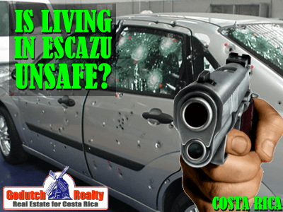 US Embassy security message warns for living in Escazu