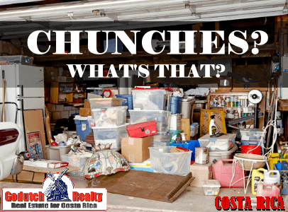 What are chunches in Costa Rica?
