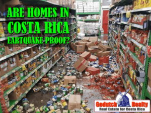 Are Costa Rica homes able to withstand an earthquake or not
