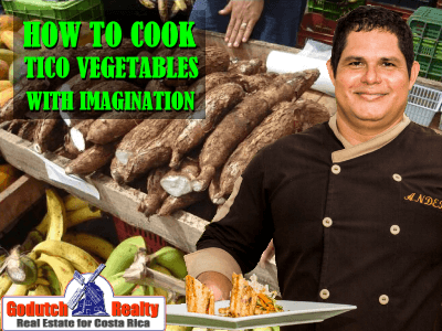 Discover how to cook the different Tico vegetables with imagination