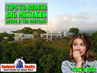 How to reduce mistakes when buying mountain property