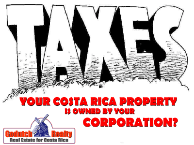 Corporation Tax Costa Rica 2019 - wondering what happened with it?