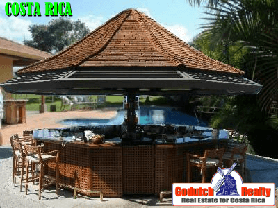 Design a bar and outdoor kitchen for your house in Costa Rica