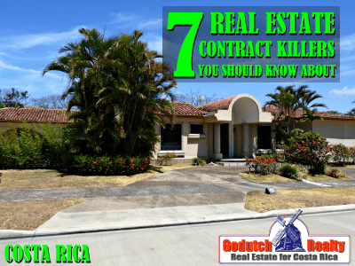 7 Costa Rica Real Estate Contract Killers You Should Know About