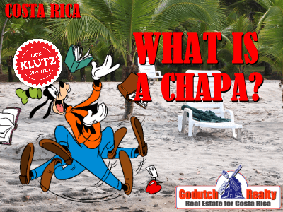 What is a chapa in Costa Rica