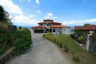Atenas luxury estate home for sale, landscaped gardens and wow views