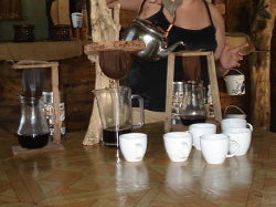 The Costarican coffee maker