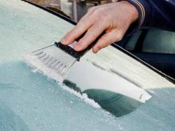 In Costa Rica, you don't have to clean your frozen windshield ever